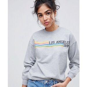 ASOS | Los Angeles Gray Sweatshirt